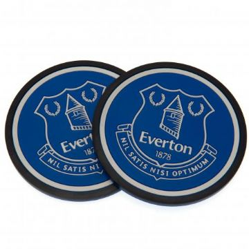 Everton FC 2 Pack Coaster Set
